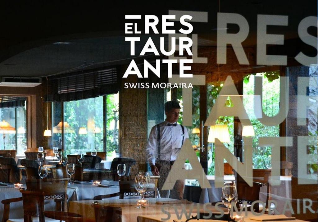 El Restaurante del Swiss Hotel Moraira