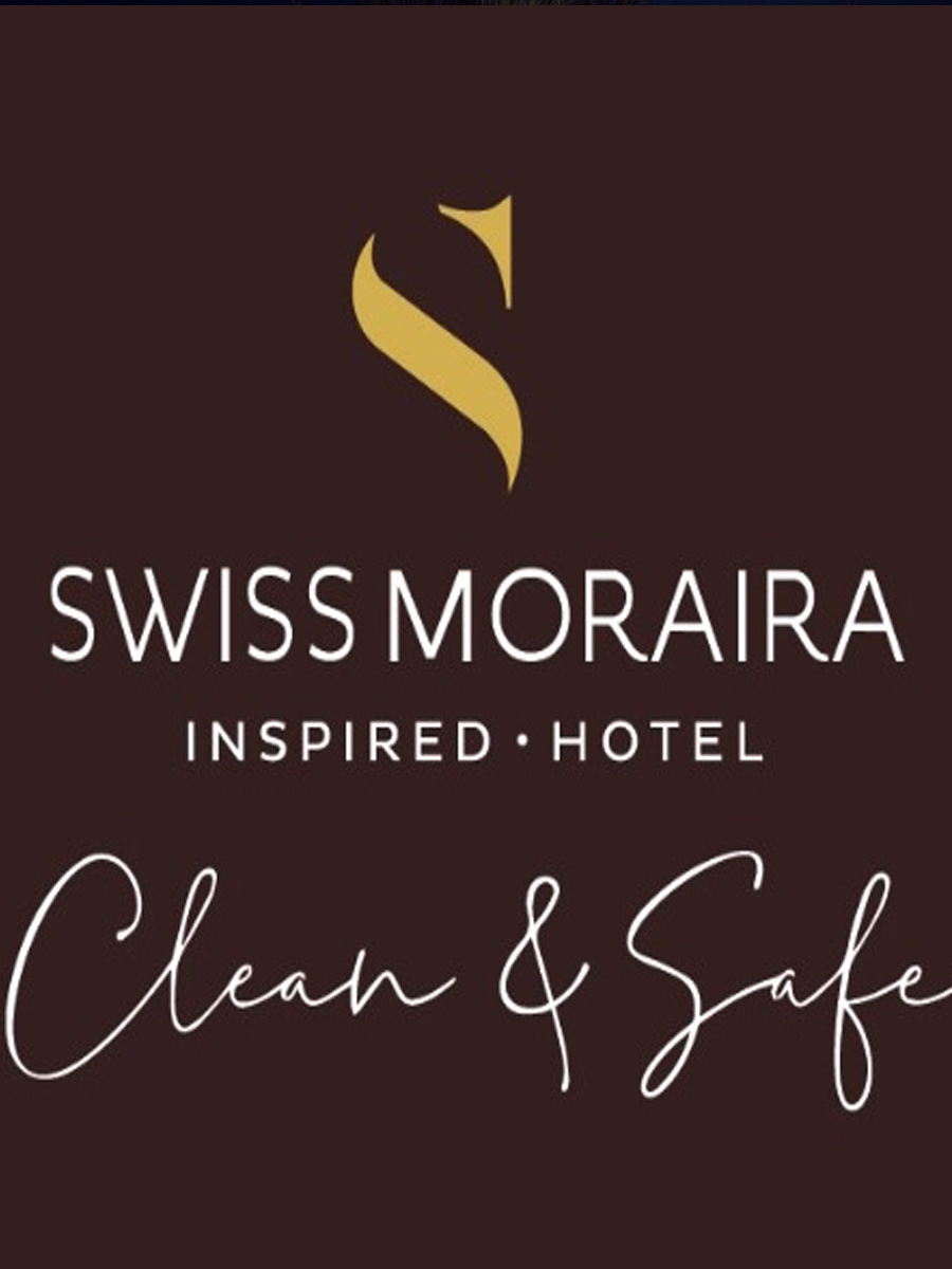logo clean and safe covid19 prevention measures Swiss Hotel Moraira