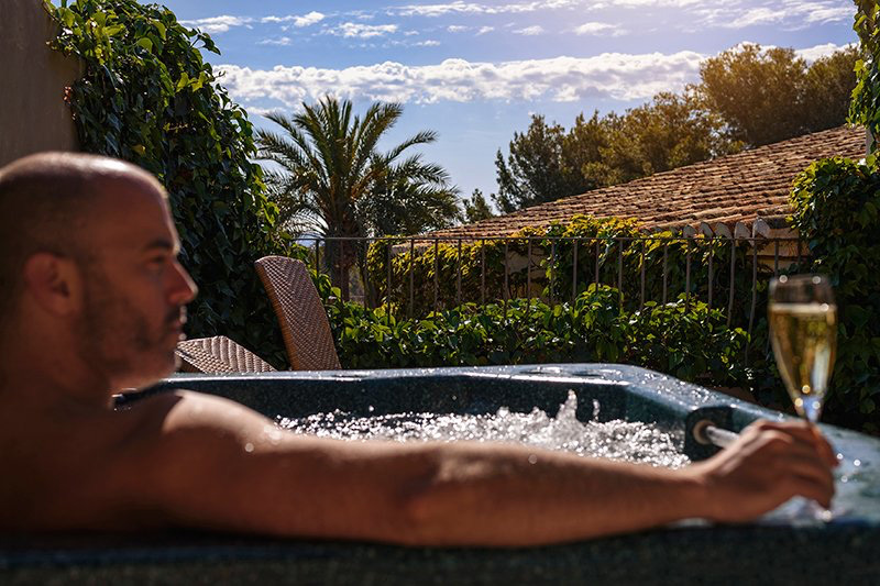 swiss hotel moraira jacuzzi terrace